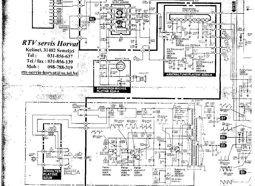 SANYO CTP4237 Service Manual download, schematics, eeprom