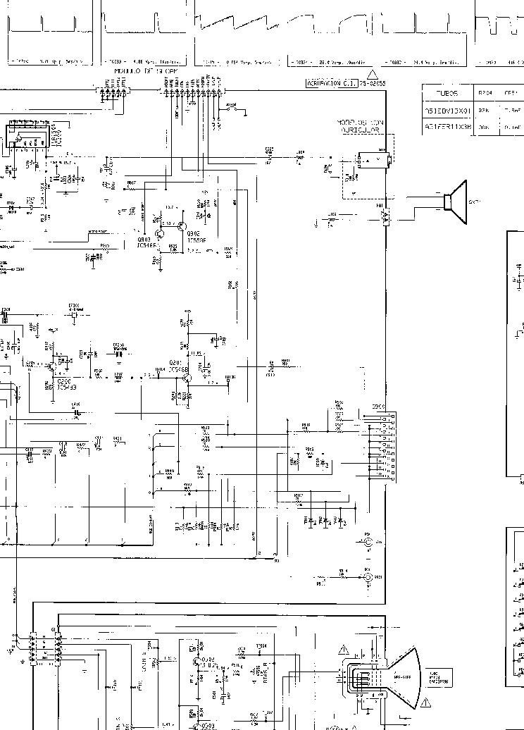 SANYO ES C2170 Service Manual download, schematics, eeprom