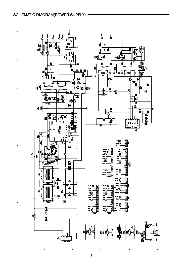 SANYO TV LCD-27XR1 Service Manual download, schematics