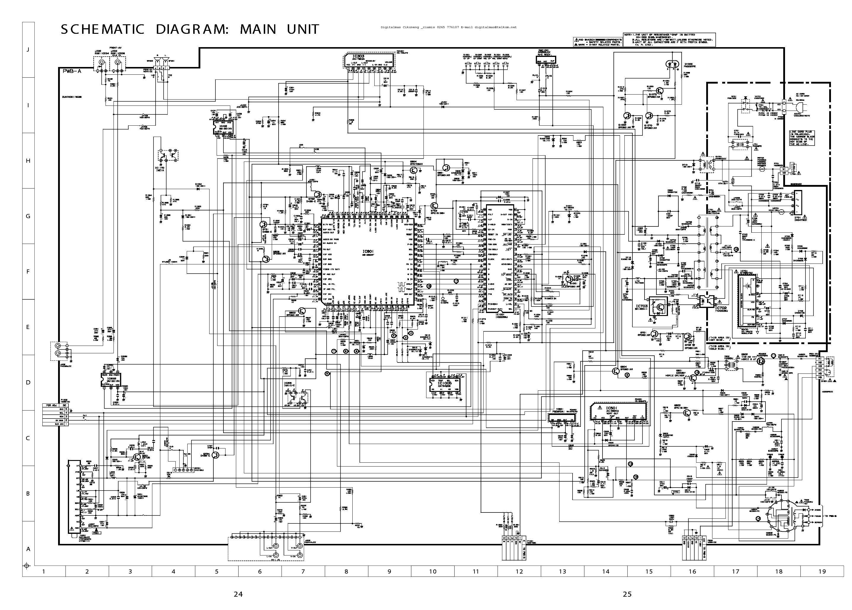 SHARP LC-32GA4E 37GA4E SM Service Manual free download