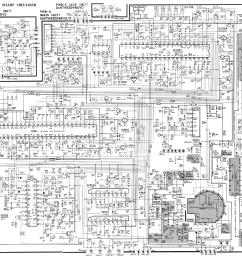 sharp tv schematic diagram [ 2946 x 2195 Pixel ]