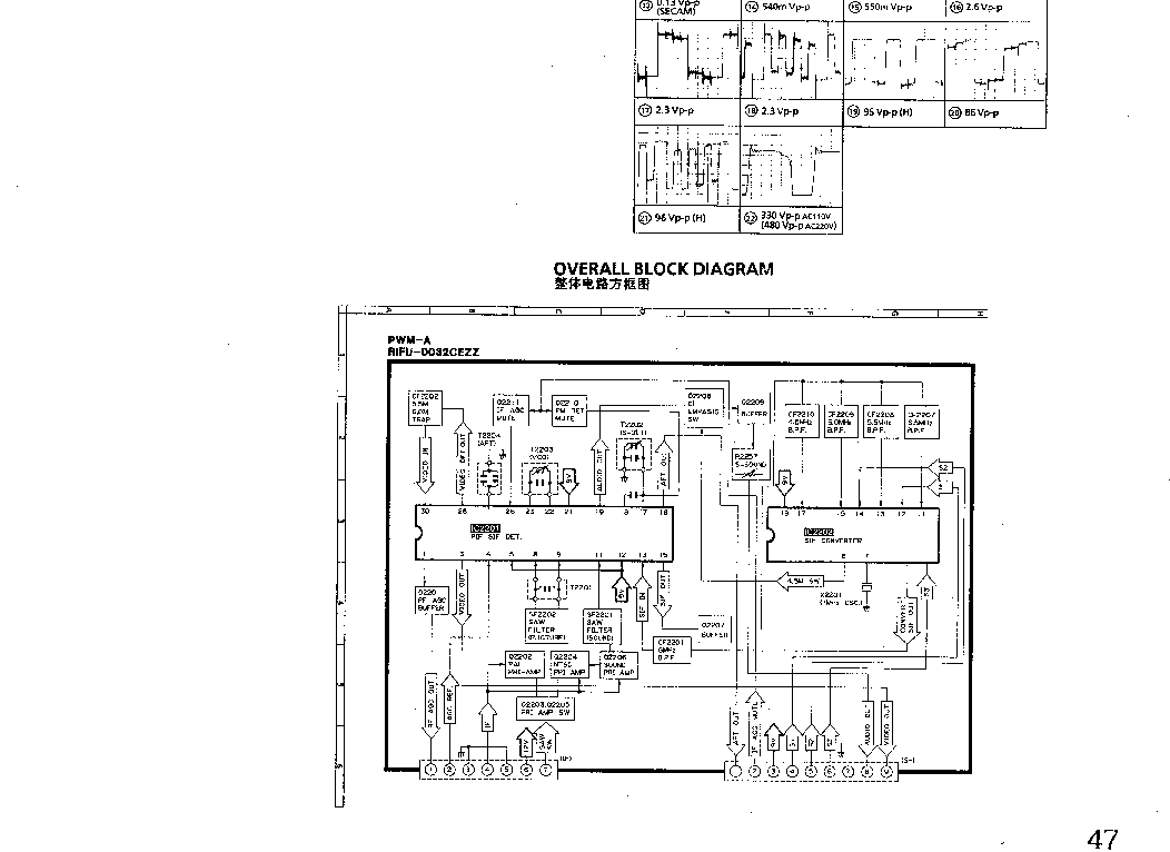 SHARP 25 29FN1 Service Manual download, schematics, eeprom