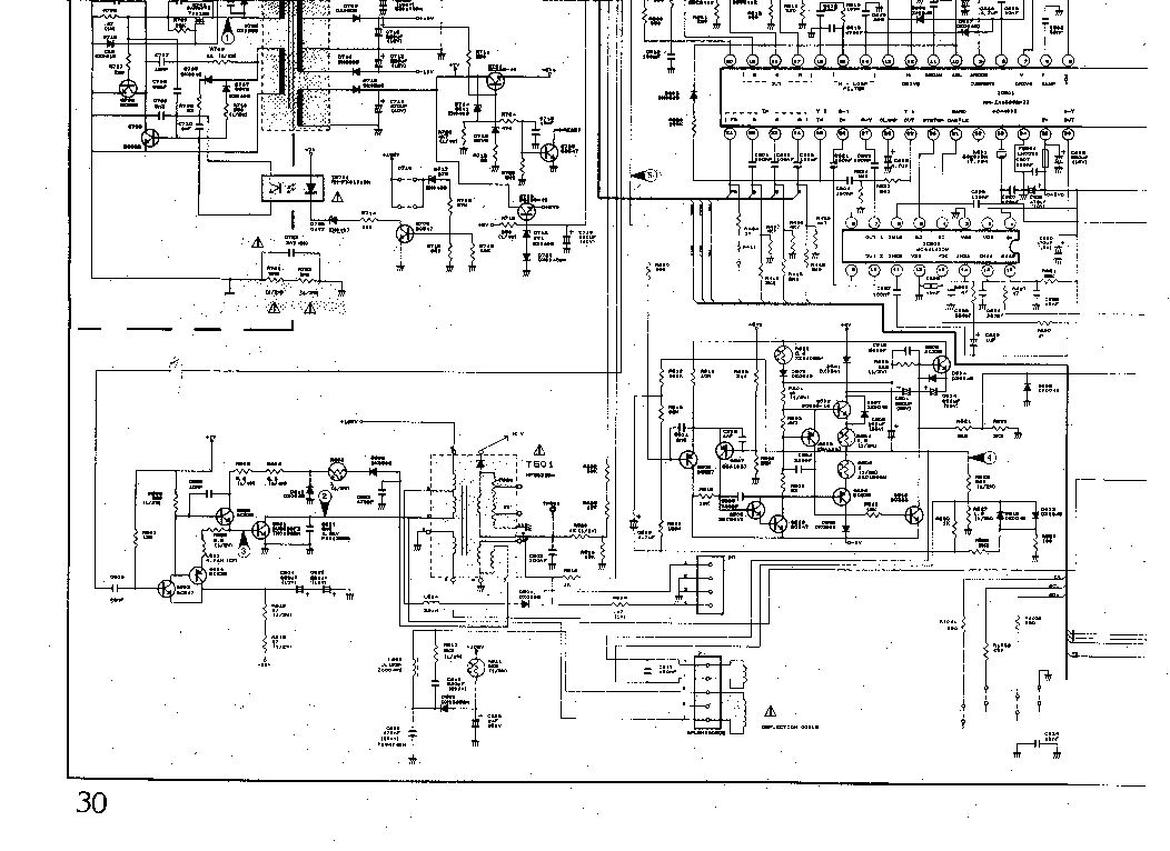 SHARP 37AM-12SC Service Manual download, schematics