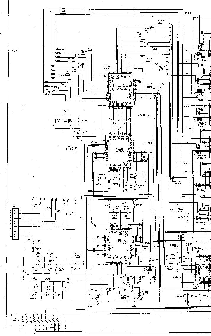 SHARP 66DW-18H 76DW-18H CH CW-100 SM Service Manual