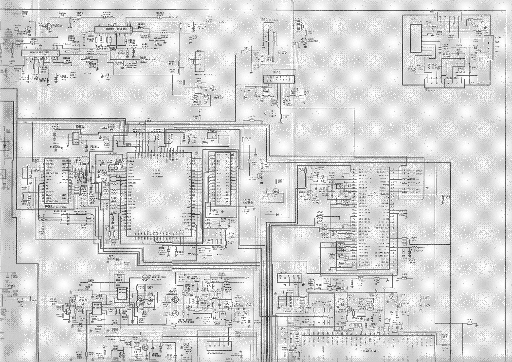 SHARP 70ES03S Service Manual download, schematics, eeprom