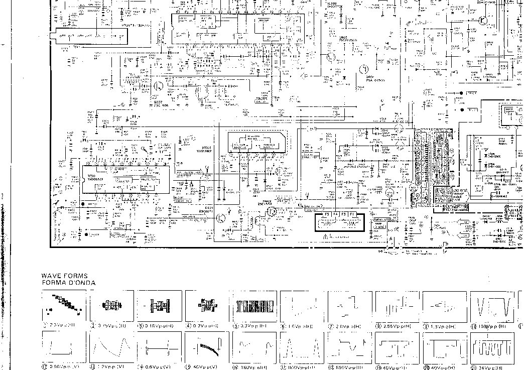 SHARP C1410SS TV D Service Manual download, schematics