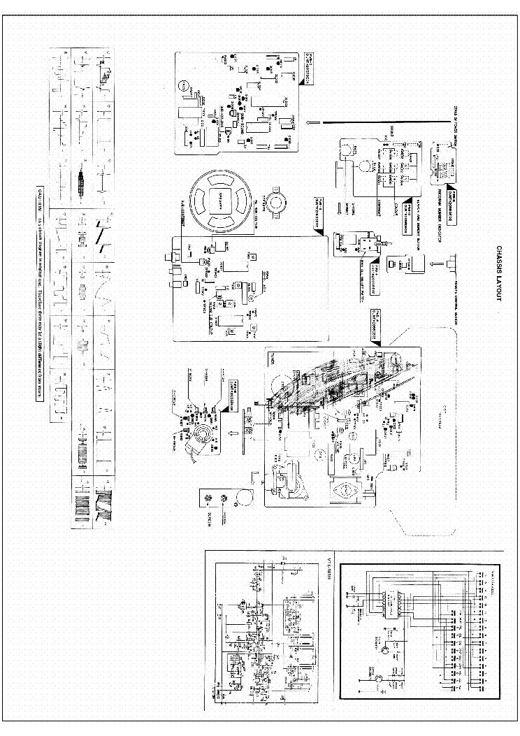 SHARP C2002SC Service Manual download, schematics, eeprom