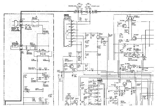 SHARP CV-2131CK SCH Service Manual download, schematics