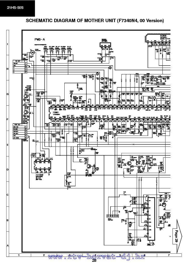 SHARP GA1E CHASIS 21HS50S TV D Service Manual download