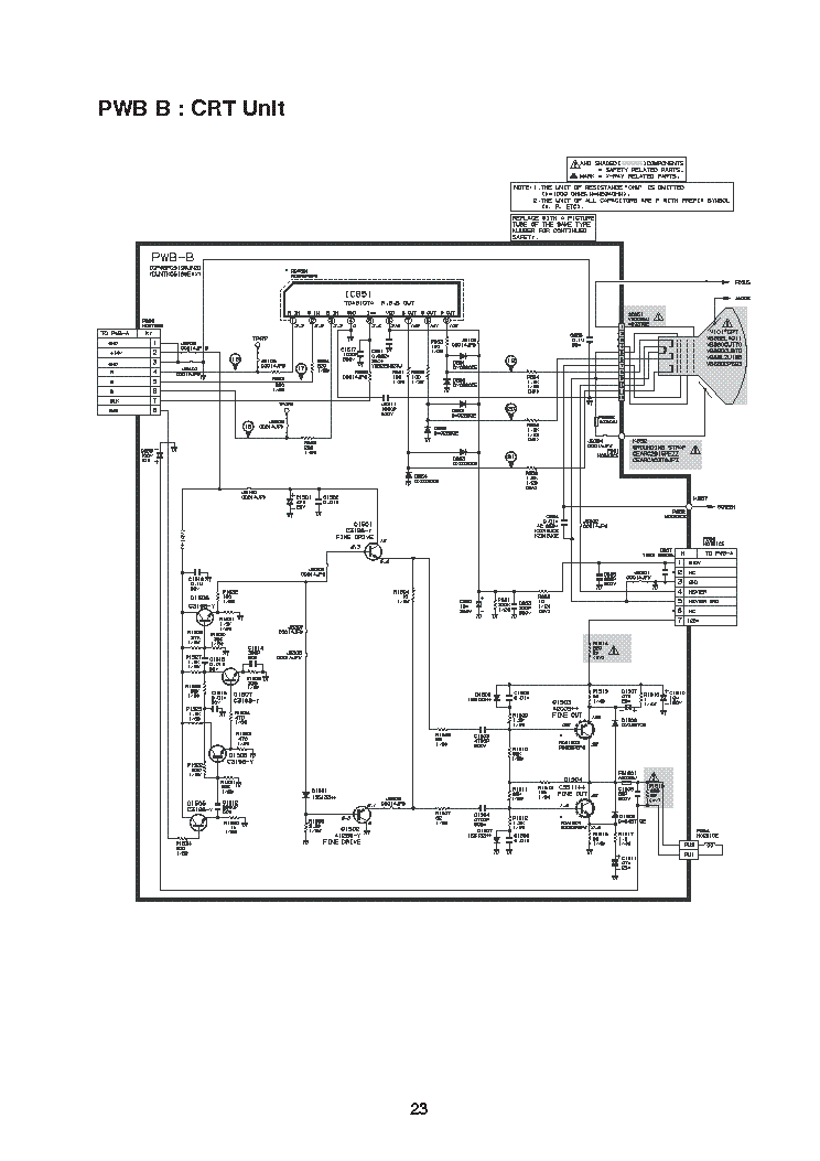 SHARP HF-2930C SCH2 Service Manual download, schematics