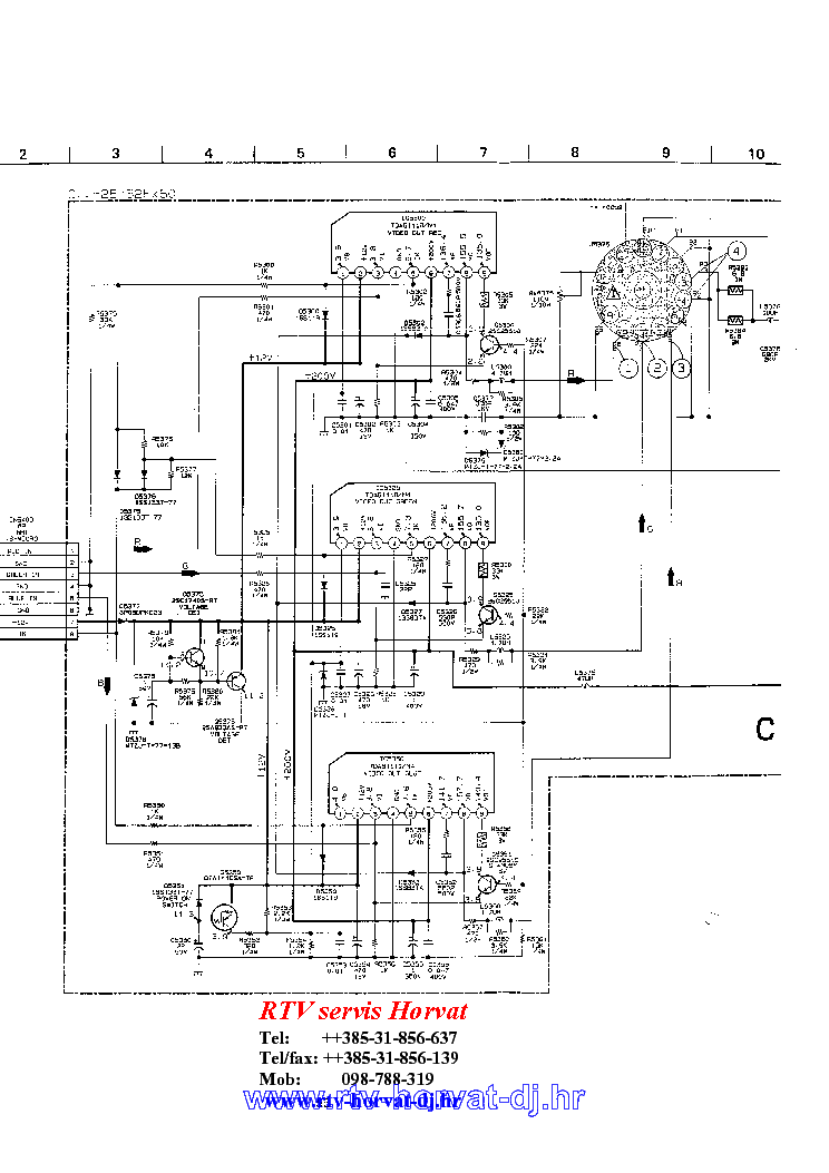 SONY KV-2964MT Service Manual download, schematics, eeprom