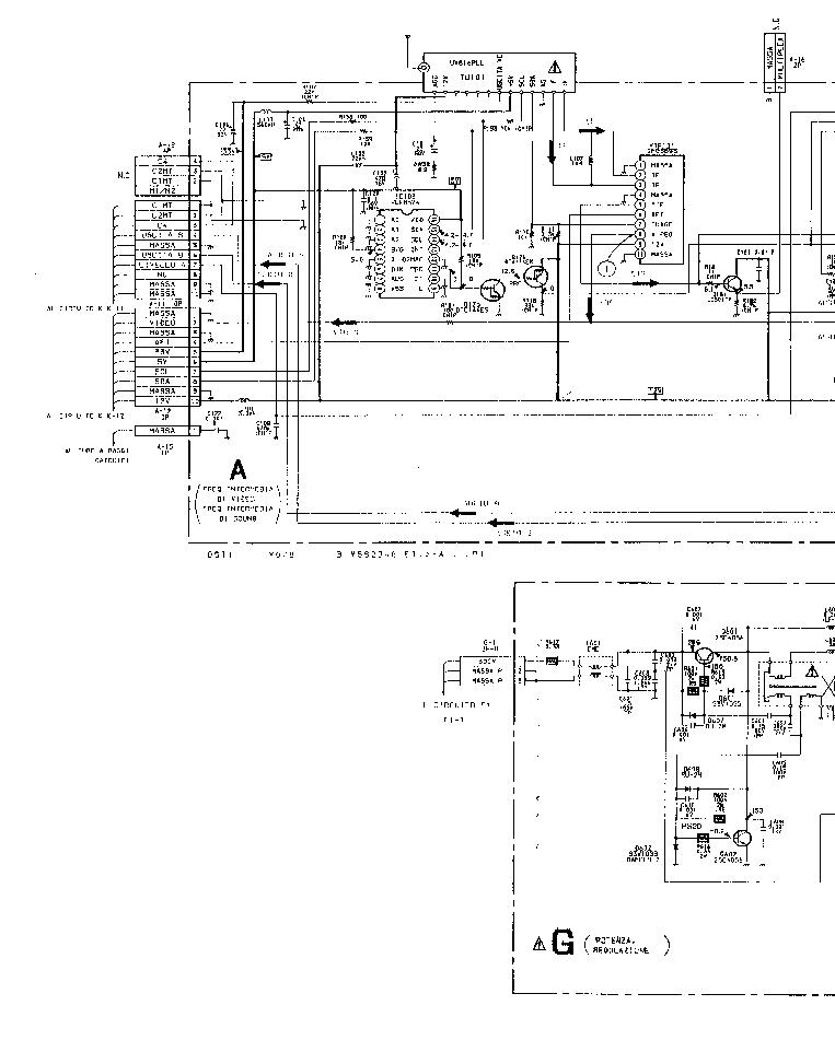SONY KV-M1400K Service Manual free download, schematics