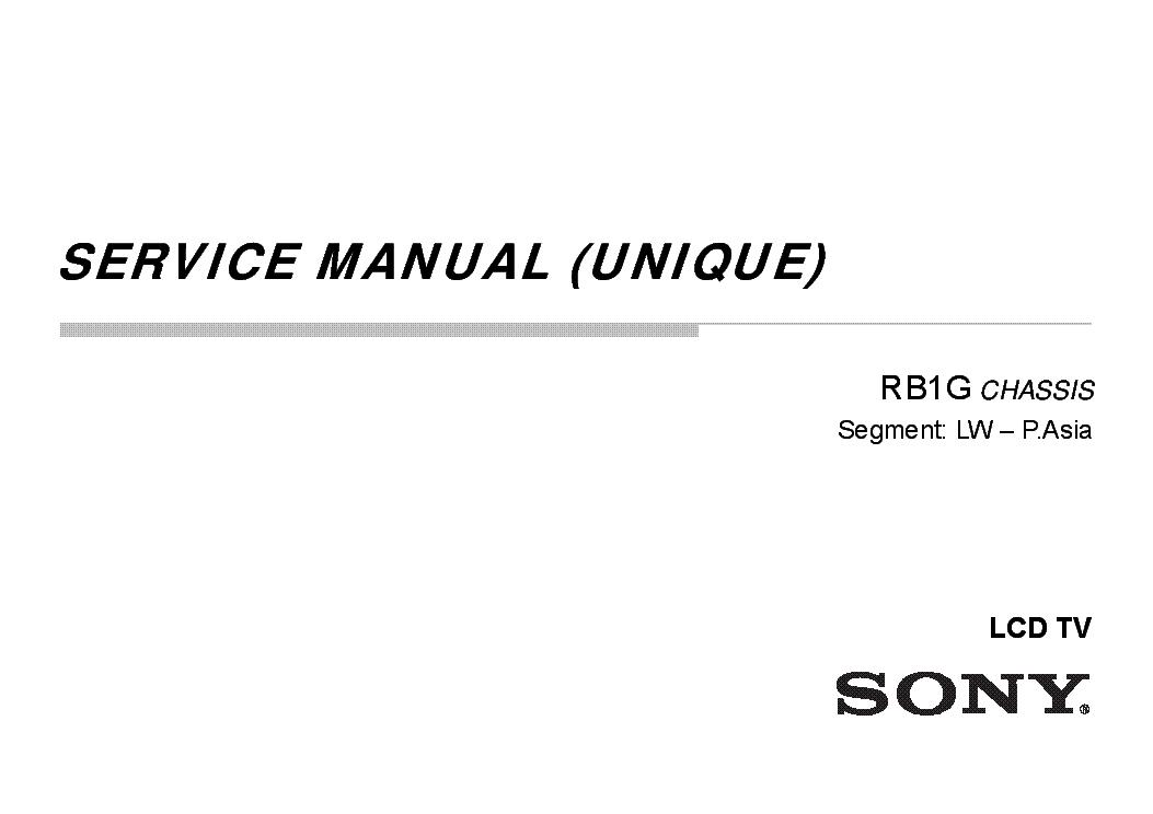 SONY KDL-24-32W600A 32-42W650A 32-42-50W654A 32-42W658A 32