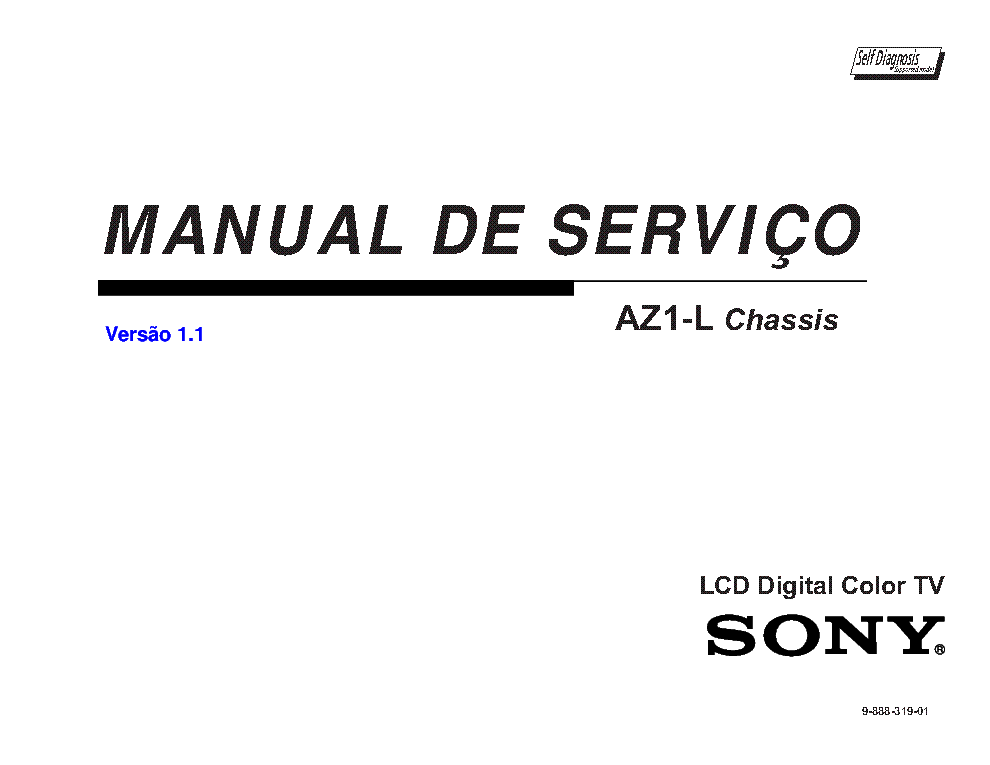 SONY KDL-40EX505 46EX505 55EX505 60EX505 CHASSIS AZ1-L 9