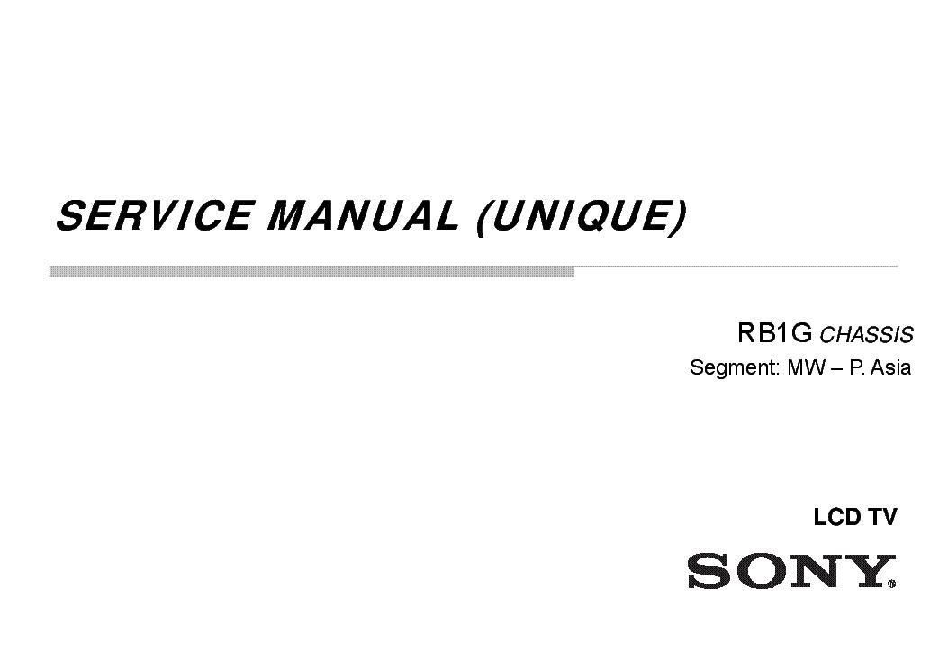 SONY KDL-42W800A 42W804A 47W800A 47W804A 55W800A 55W804A