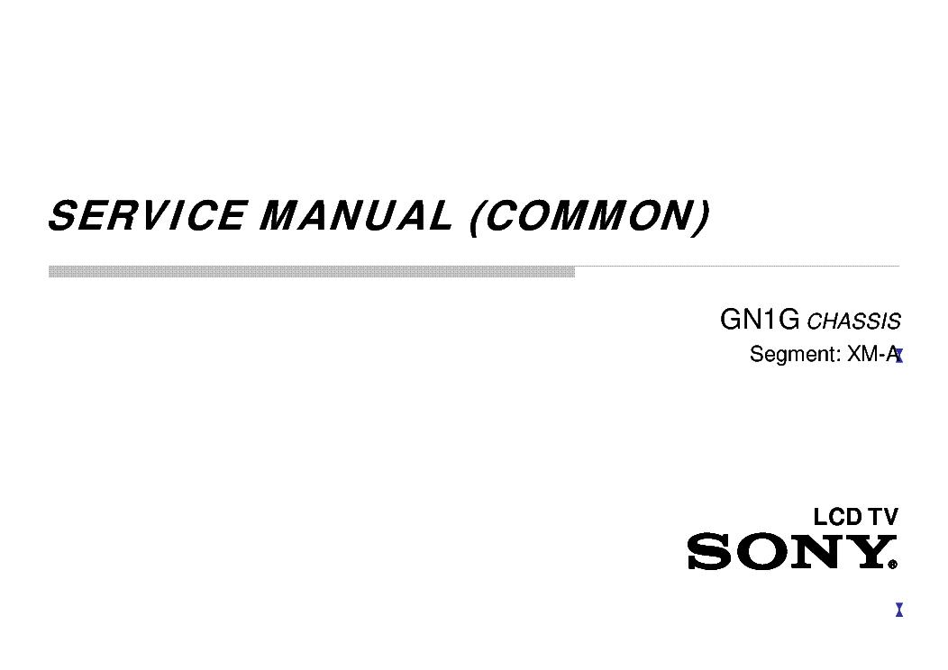 SONY KDL-43-50-55W7XC DL-43-50-55W8XC CHASSIS GN1G VER.3
