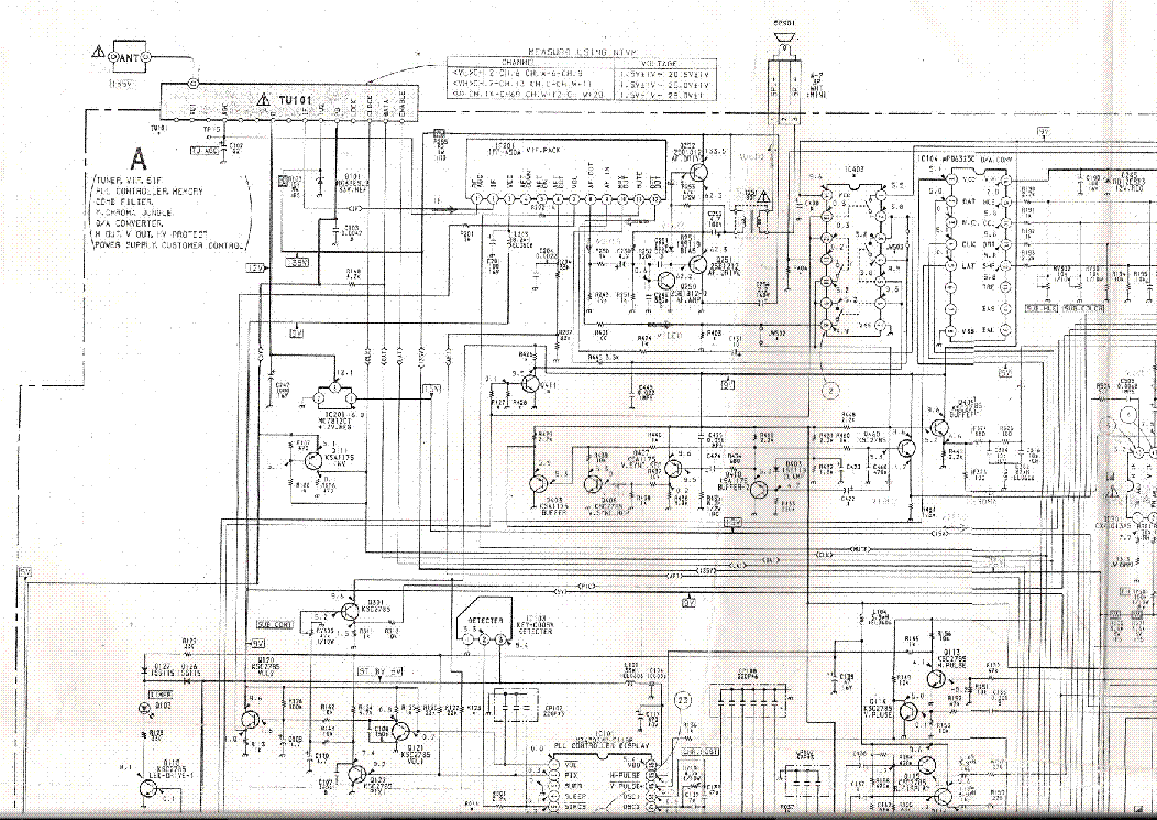 SONY KV-1427R SM Service Manual download, schematics