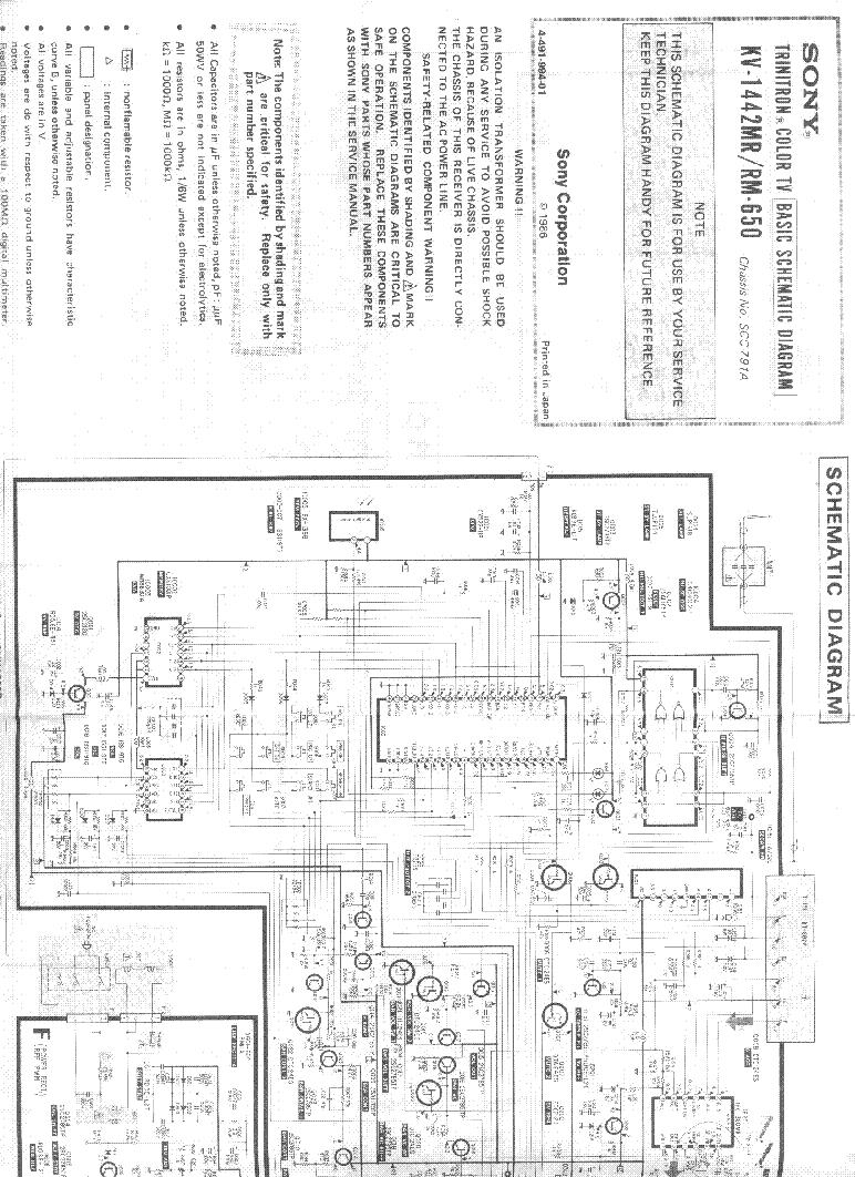 SONY KV-29LS30 Service Manual free download, schematics