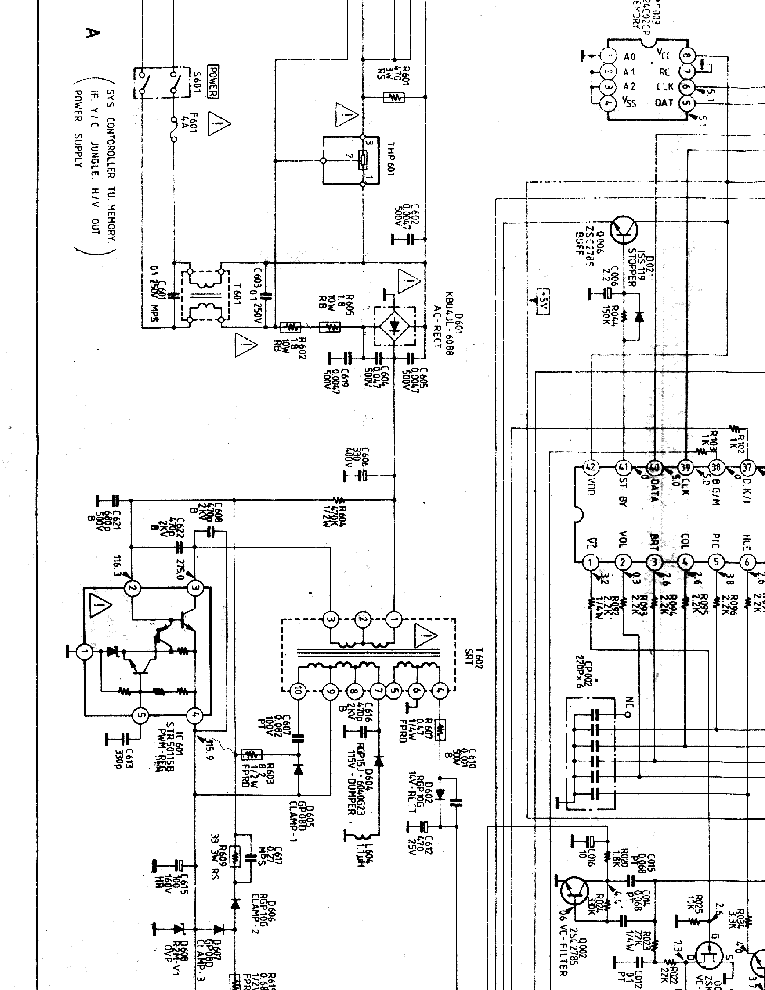 SONY KV-2184-SM Service Manual download, schematics