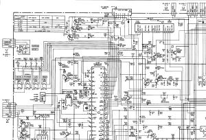 SONY KV2553MT Service Manual download, schematics, eeprom