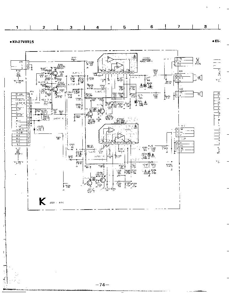 SONY KV-27XBR15 XBR65 ESQUEMATICO S Service Manual