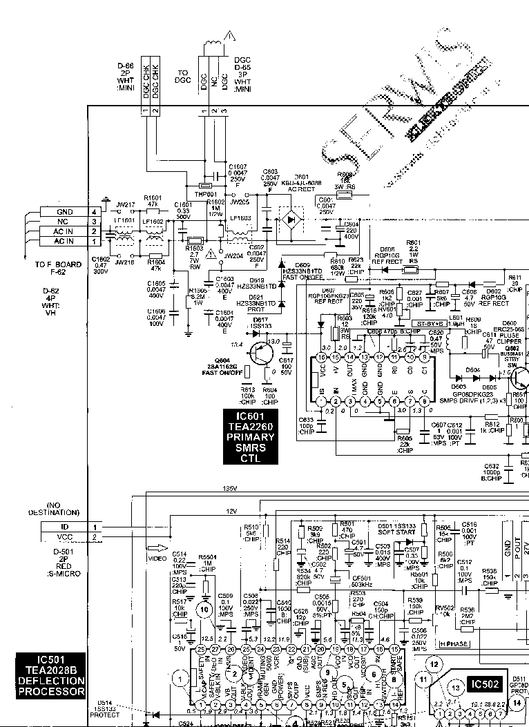 SONY KV-21FS100 CHASSIS BA-6 Service Manual free download