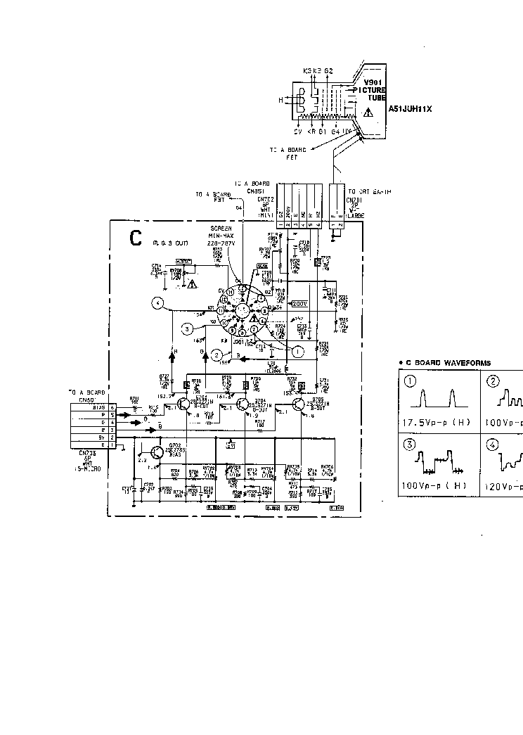 SONY KV2185MT TV D Service Manual download, schematics
