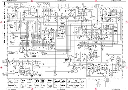 small resolution of sony tv circuit diagram wiring diagram expert sony tv circuit diagram free download pdf sony kv2187mt