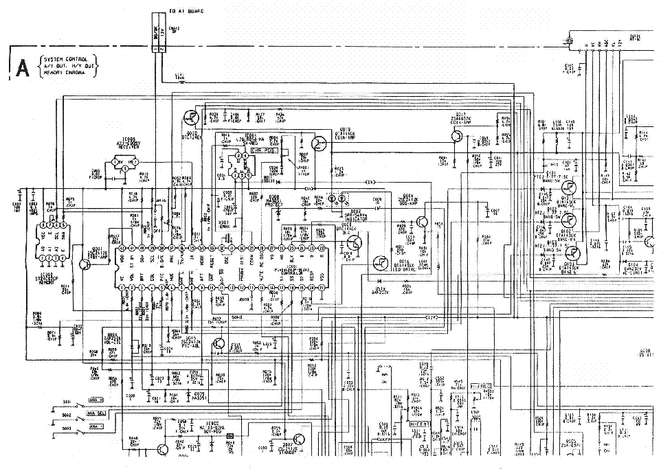 KV-M2100K KV-M2101K Service Manual download, schematics