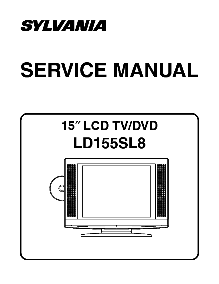 SYLVANIA SRT2227S Service Manual free download, schematics