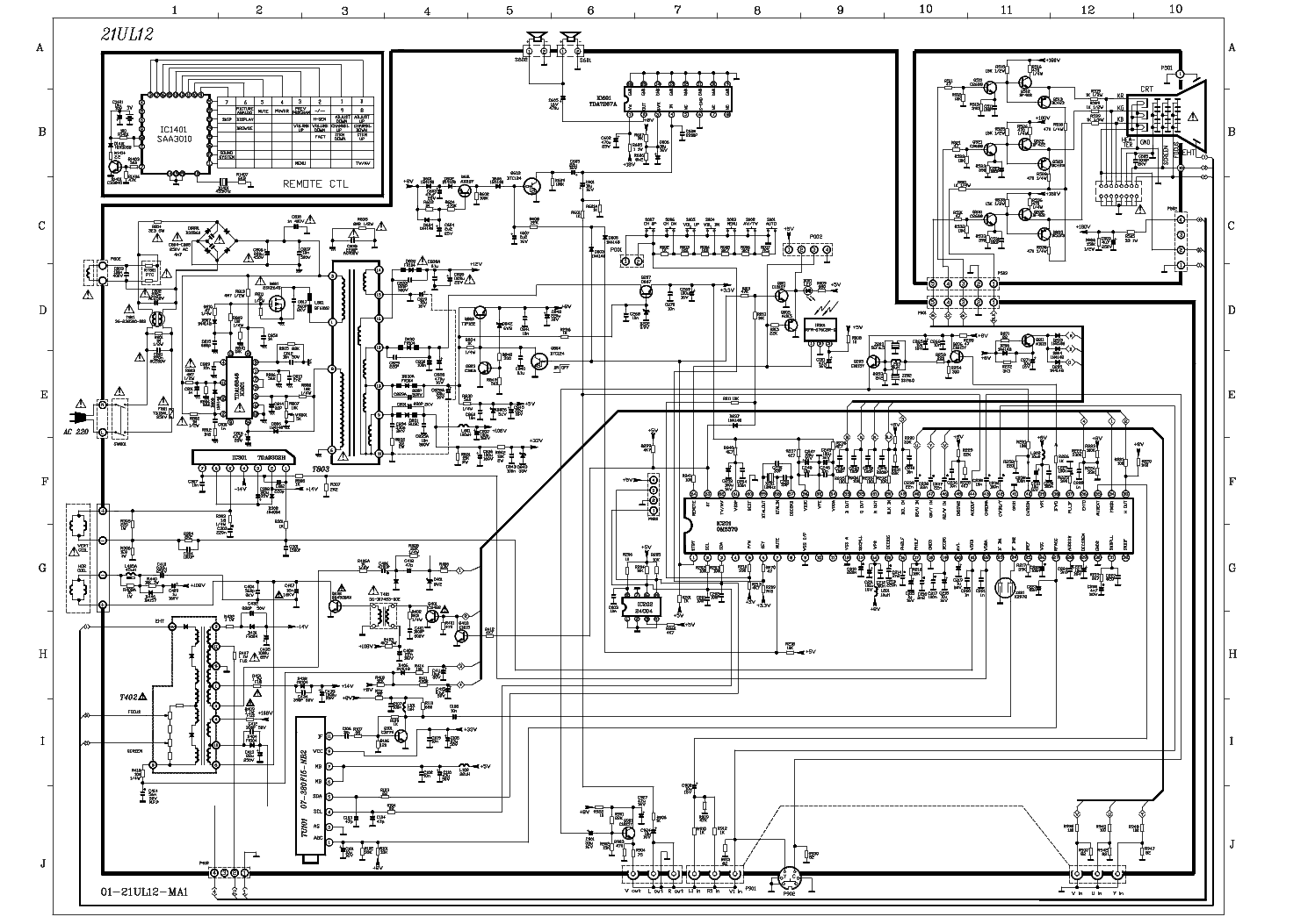 [DIAGRAM] Led Lcd Tv Circuit Diagram FULL Version HD