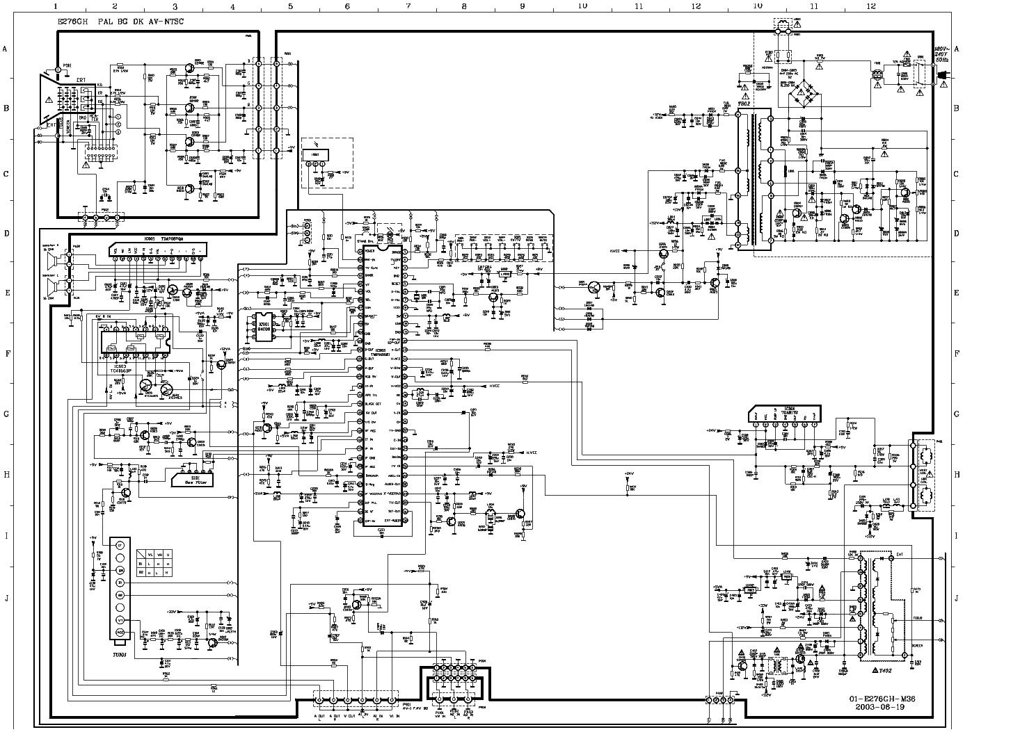 TCL E276GH SCH Service Manual download, schematics, eeprom