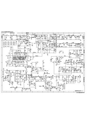 TCL LCD TV  LCD42B66 POWER SUPPLY SCHEMATIC DIAGRAM SCH Service Manual download, schematics