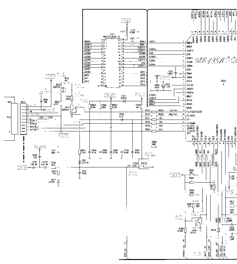 THOMSON 29DL21E Service Manual download, schematics