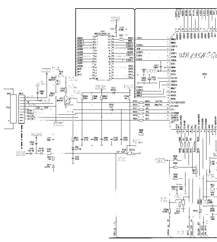 THOMSON 29DL21E Service Manual download, schematics
