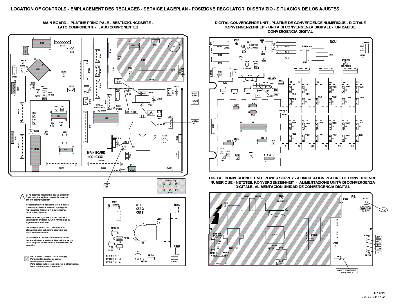 THOMSON 46RH44E SCH Service Manual download, schematics
