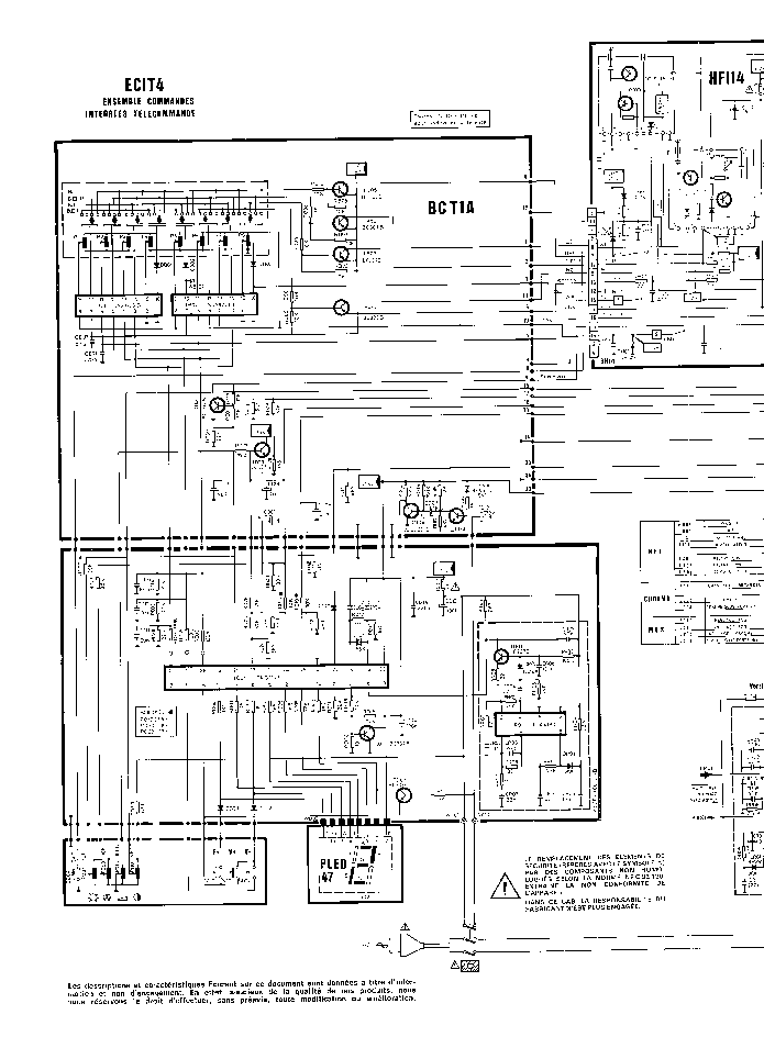 THOMSON TV-ICC-2 Service Manual download, schematics