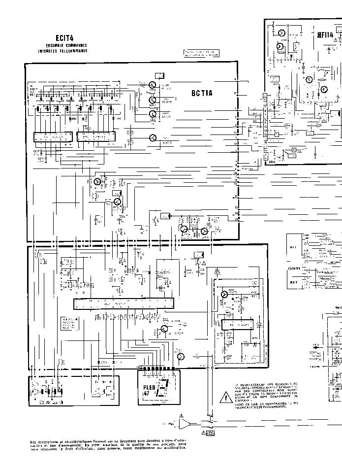 THOMSON TV-ICC-2 Service Manual download, schematics