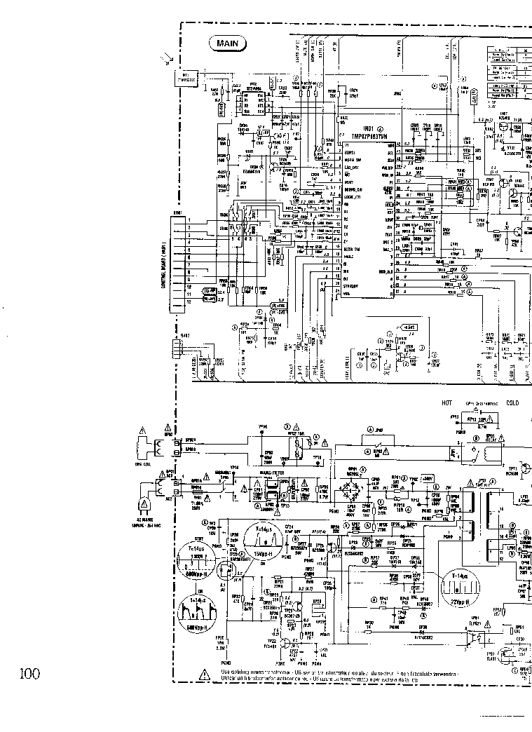 THOMSON TX-807 Service Manual download, schematics, eeprom