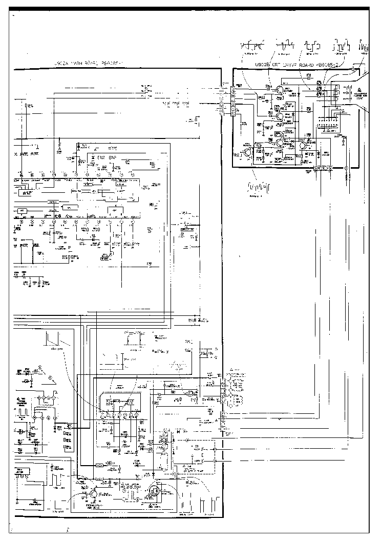 TOSHIBA 1400 TV D Service Manual download, schematics