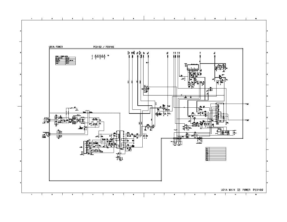 TOSHIBA 14LCR17 SCH Service Manual download, schematics