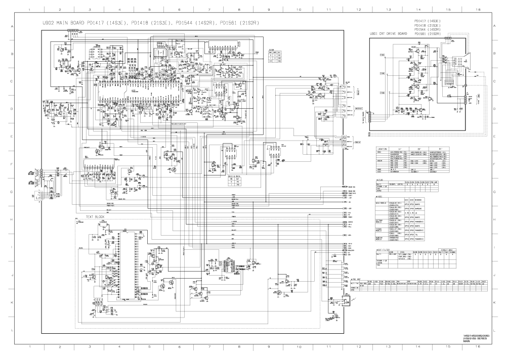 medium resolution of toshiba tv diagram box wiring diagram diagram panasonic tv toshiba 14s3e 21s3e 14s2r 21s2r service manual