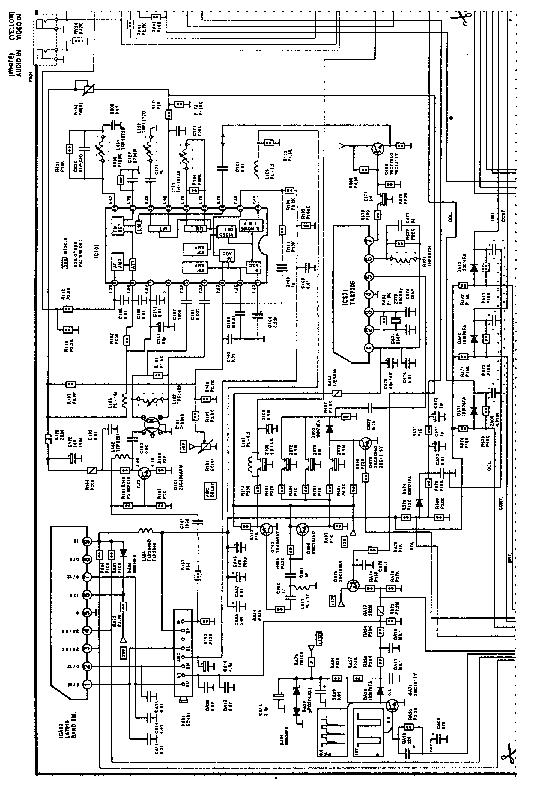 TOSHIBA 2104 TV D Service Manual download, schematics