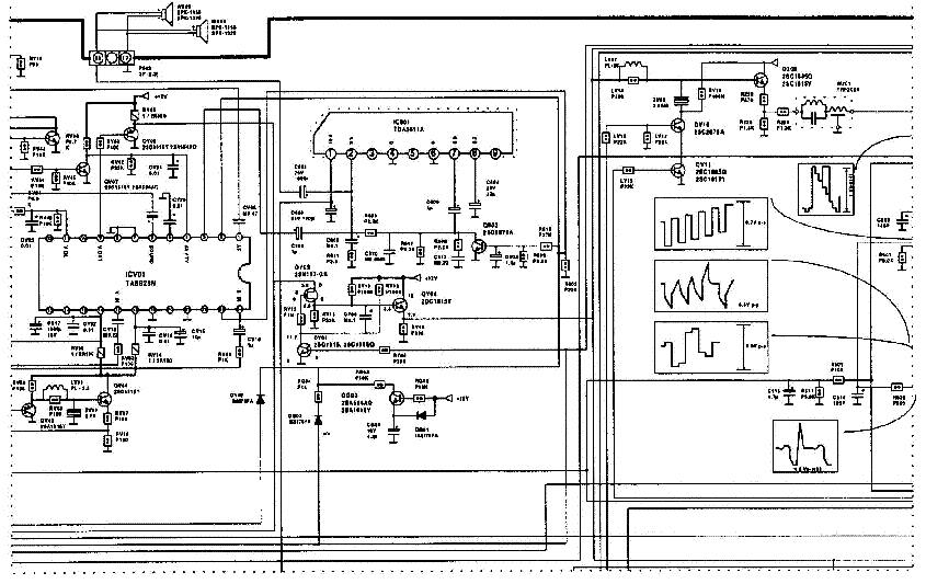 TOSHIBA 2104SX3 Service Manual download, schematics