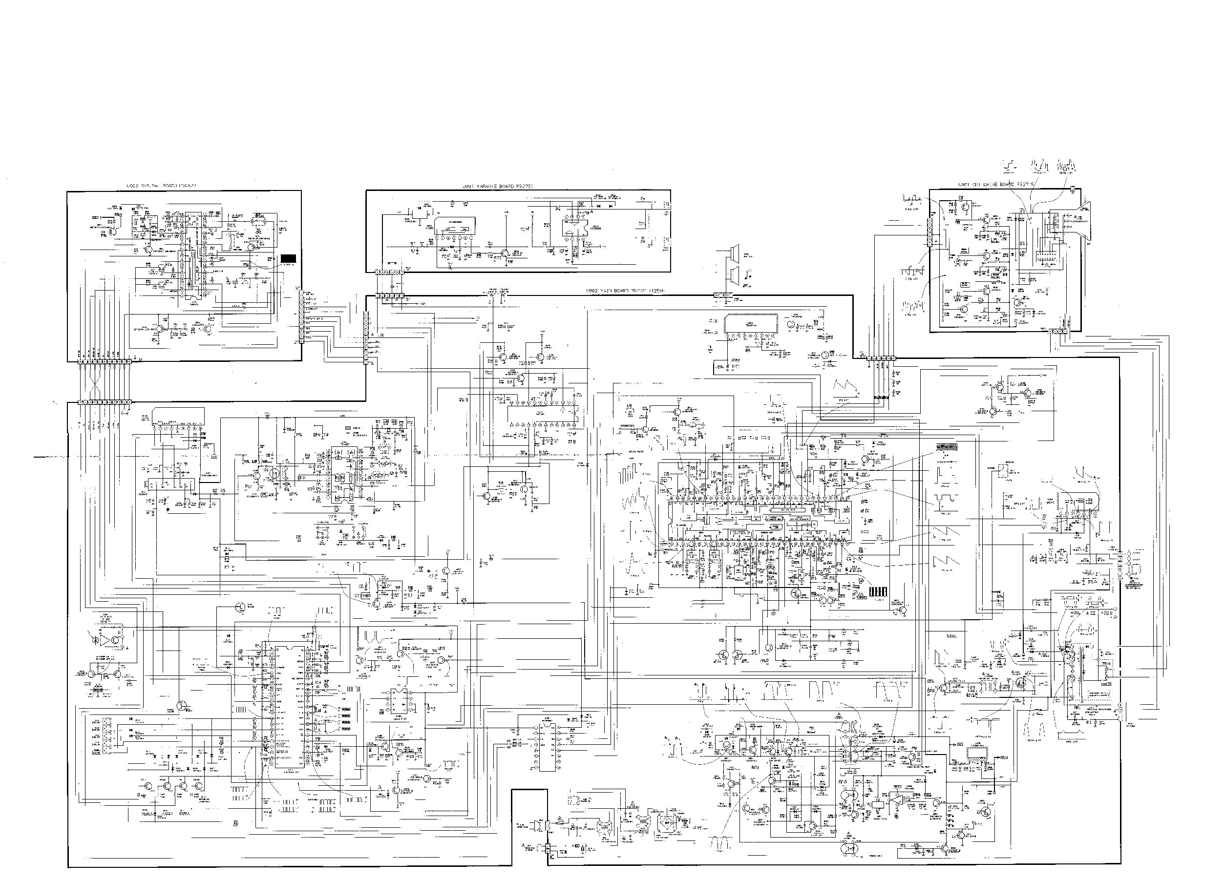 TOSHIBA 2125XH Service Manual download, schematics, eeprom
