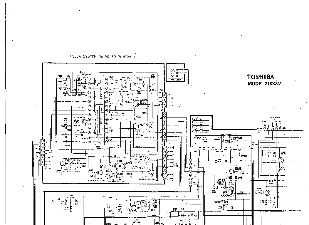 TOSHIBA 29A3E Service Manual free download, schematics