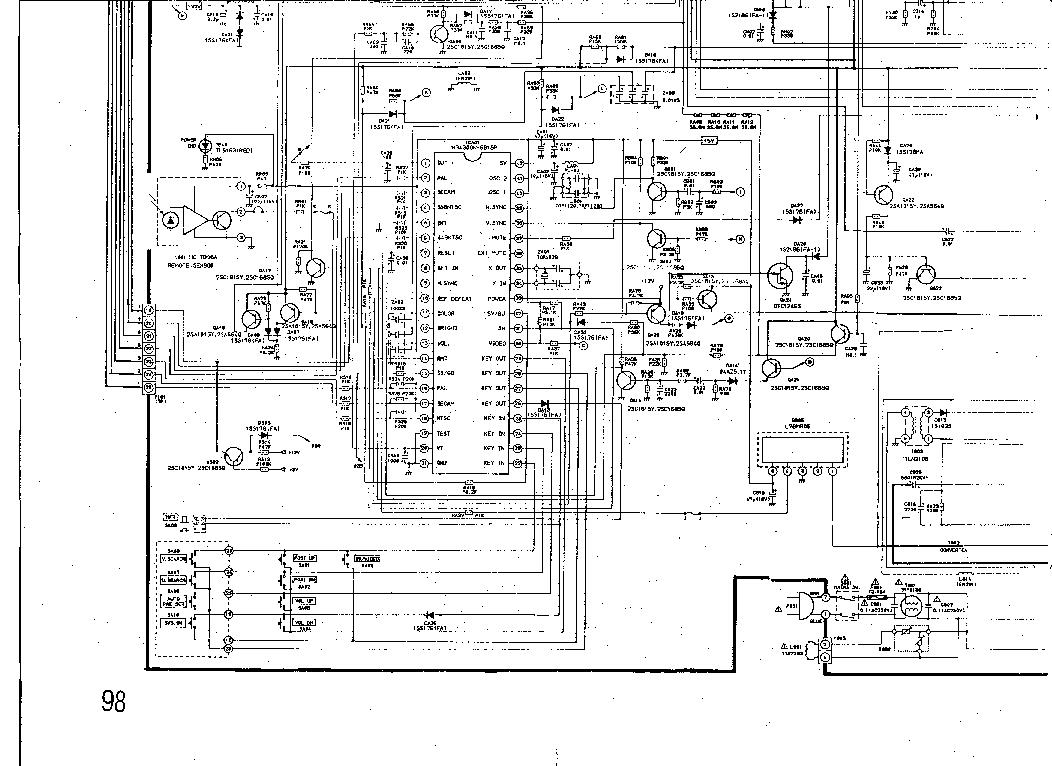 TOSHIBA 218X8M,218X9S Service Manual download, schematics