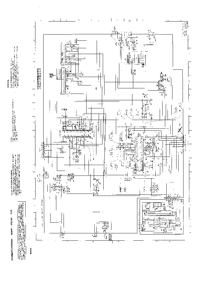 TOSHIBA 21D3XE Service Manual download, schematics, eeprom