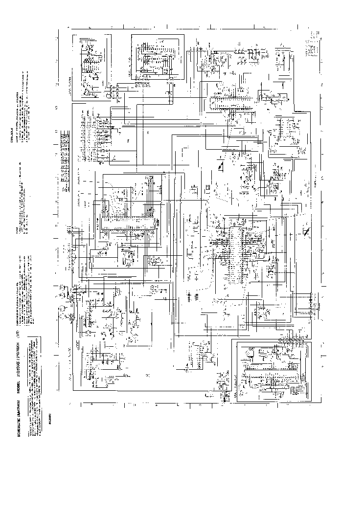 TOSHIBA 21D7DXE TV D Service Manual download, schematics