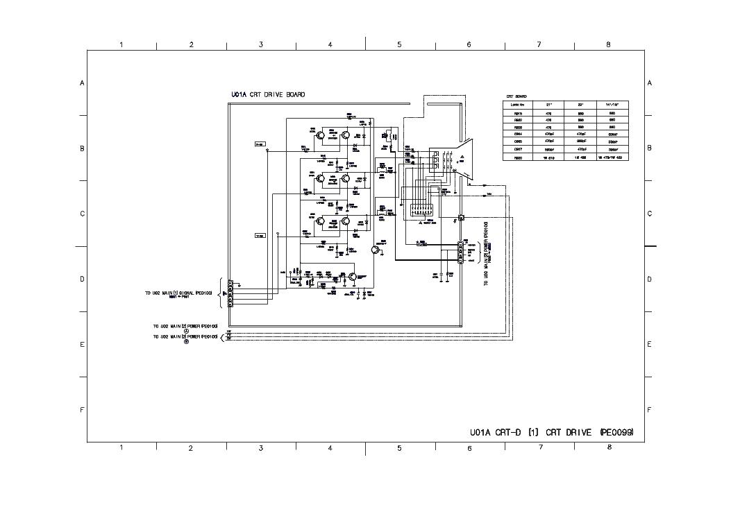 TOSHIBA 21LZR17 SCH Service Manual download, schematics